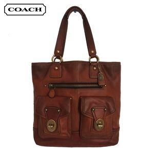 Coach Gigi Tote Bag 65th Anniversary Whiskey HTF